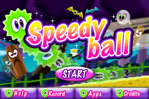 Screenshot Speedy ball